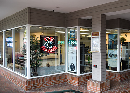 Bayview Optical Storefront